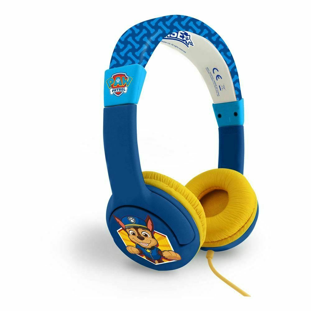 PAW PATROL CHASE PREMIER CHILDREN'S HEADPHONE 3 TO 7 YEARS MULTI-COLOUR (PAW722)