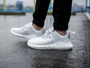 online store 42179 83a3f Details about Adidas EQT Support 93/17 GTX Goretex BOOST Triple White Mens  Trainers UK 9.5 44