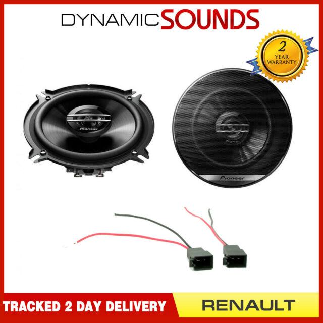 Pioneer 13cm Front Door Coaxial Car Speaker 250w Upgrade Kit for Renault Master
