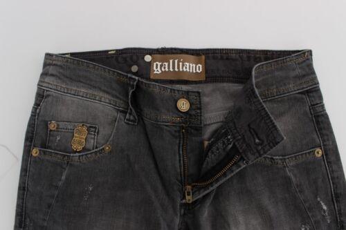 Slim John 8034166062680 450 cotone Jeans Stretch Lavaggio Galliano Grigio Pantaloni misto W30 Nuovo Fit zqBx5wpw