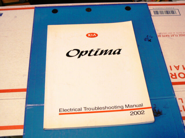 2002 Kia Optima Electrical Troubleshooting Manual  Wiring