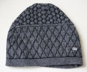Image is loading BABY-DIOR-GREY-KNIT-HAT-6-12-MONTHS 22bdab26edf