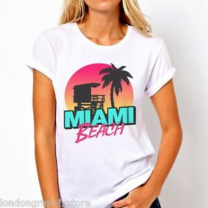 Image Is Loading Miami Beach T Shirt Sobe South