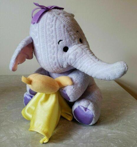 Boneca De Pelúcia DISNEY WINNIE THE POOH HEFFALUMP ELEPHANT SECURITY BLANKET Cobertor
