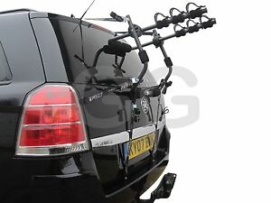 Mottez-Car-3-Bike-Cycle-Carrier-Rack-Rear-Door-Boot-Mounted-A025PMON