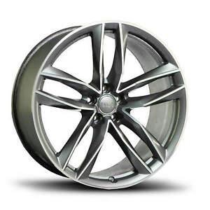 Audi-RS6-4G-21-Zoll-Alufelge-Felge-S-line-4G0601025CF-Doppelspeichen-Design