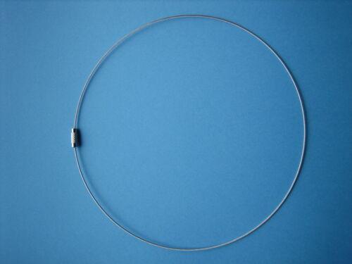 Angebot Modern ultraleicht 50x Edelstahl Draht Halsreif Collier 45 cm