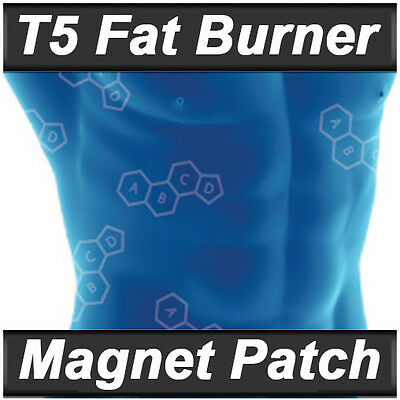 T5 FAT BURNERS PATCHES - STRONG DETOX / SLIMMING / DIET / WEIGHT LOSS PILLS ALT