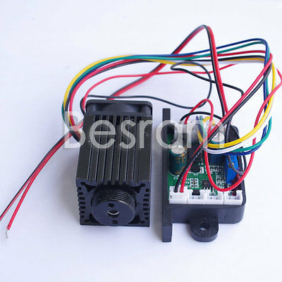 Laserland 100mW 532nm Green Laser Module Diode Stage Lighting Long Duty 12V TTL