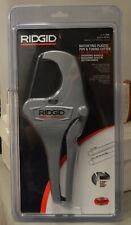 Ridgid Rc 2375 18 2 38 Ratcheting Pvc Pipe Amp Tubing Cutter 30088