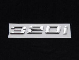 320i-Trunk-Rear-Emblem-Badge-Chrome-Letters-for-BMW-3-Series-E30-E36-E46-E90-F30