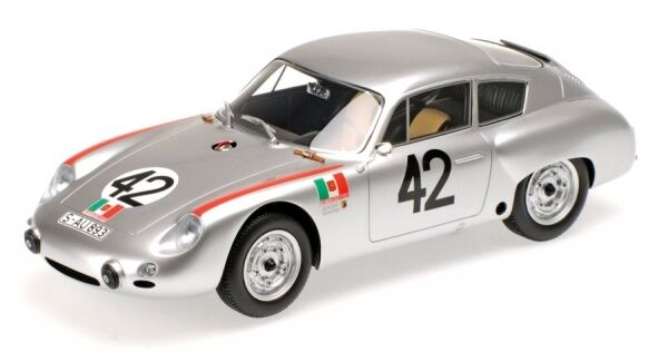Porsche 356B 1600 GS Carrera Gtl Abarth No.42 Targa Florio 1962 (Herrmann - Lin