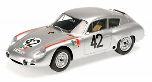 PORSCHE-356-B-1600-GS-Carrera-GTL-ABARTH-no-42-TARGA-FLORIO-1962-Herrmann-Lin