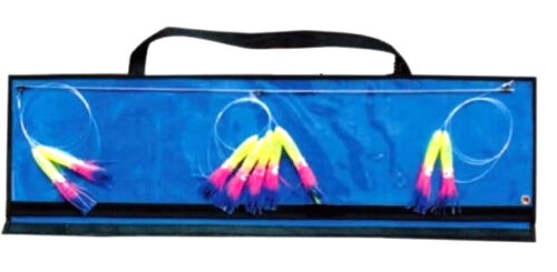 "OFFSHORE TUNA MARLIN 6/"" SQUID SKIRTS 36/"" SPREADER BAR WITH FREE BAG"
