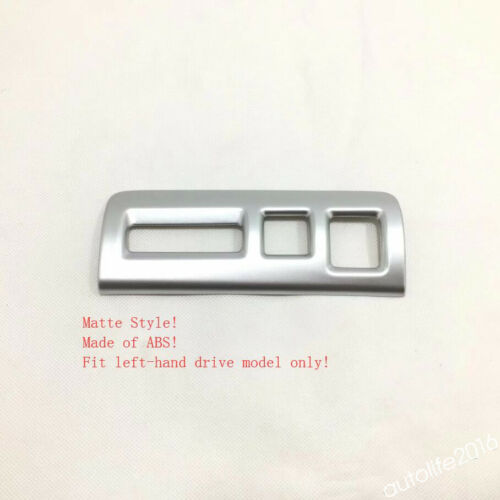 Accessories Head Lights Lamp Switch Button Cover Trims ABS For Cadillac XT4 2019