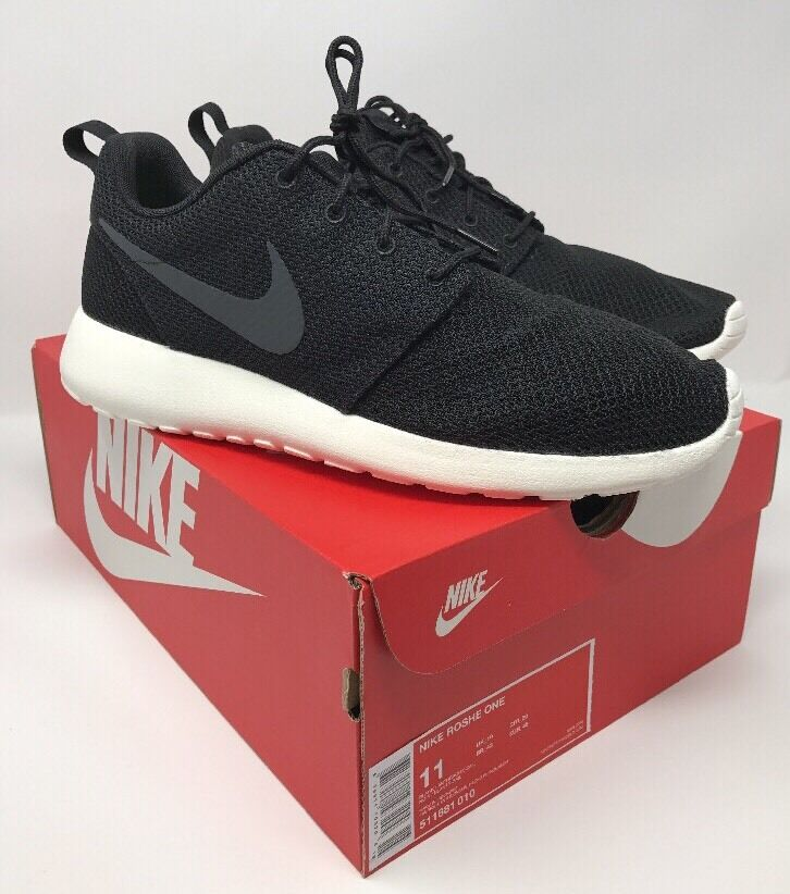Men's Nike Roshe One Size 11 Black  Anthracite-Sail