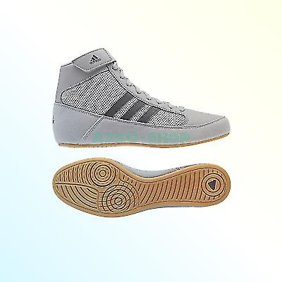 educador Respecto a Destino  adidas Men's Boy's Hvc2 Wrestling Mat Shoe Ankle Strap 2 Colors AQ3325 1  for sale online | eBay