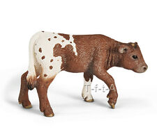 FREE SHIPPING | Schleich 13684 Texas Longhorn Calf Cow Figurine - New in Package