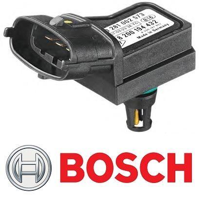 GENUINE BOSCH MAP BOOST PRESSURE SENSOR RENAULT MASTER MEGANE 1.5 1.9 2.2 DCI
