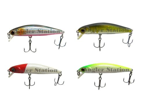 Sniper Eupro BM50F Floating Baby Minnow Fishing Lure with VMC Hook