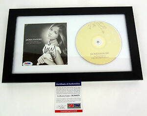 Jackie-Evancho-Signed-Songs-From-The-Silver-Screen-Framed-CD-PSA-DNA-COA