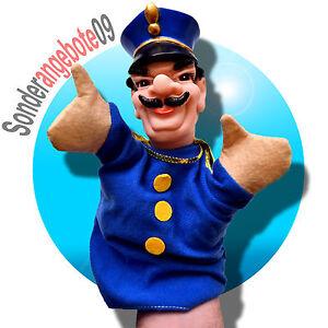 Simba-Handpuppe-Handspielfigur-Puppentheater-Polizist-Polizei-Spielfigur