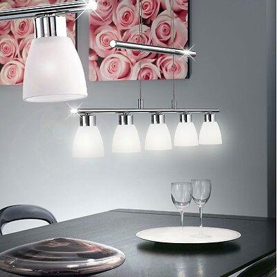 LED 12W Decken Pendel Leuchte Wohn-Ess-Zimmer Tisch Hänge Lampe Höhenverstellbar