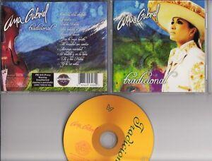 Ana Gabriel Tradicional Cd Sony Discos Usa Latin Pop Mexico Ebay