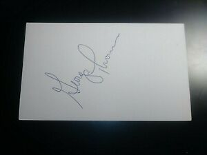 George-Thomas-Tigers-Red-Sox-Angels-Twins-SIGNED-AUTOGRAPH-AUTO-3x5-INDEX-CARD
