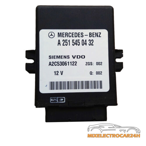 a2515450432 36 MG Mercedes w211 e320 CDI Dispositif de commande hauteur réglable