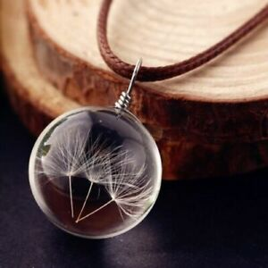Glass-Ball-Dandelions-Necklace