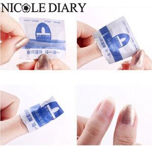 Nail-Art-Soak-Off-Acetone-UV-Gel-Polish-Nail-Wraps-Remover-Pad-Cleaner