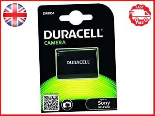 Duracell Premium Analogico Sony NP-FW50 Batteria per A7R A7S Alpha A7 7.4V 1030mAh