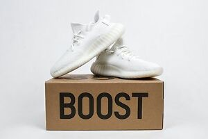 nuove adidas yeezy impulso 350 v2 tripla crema bianca cp9366 originali.