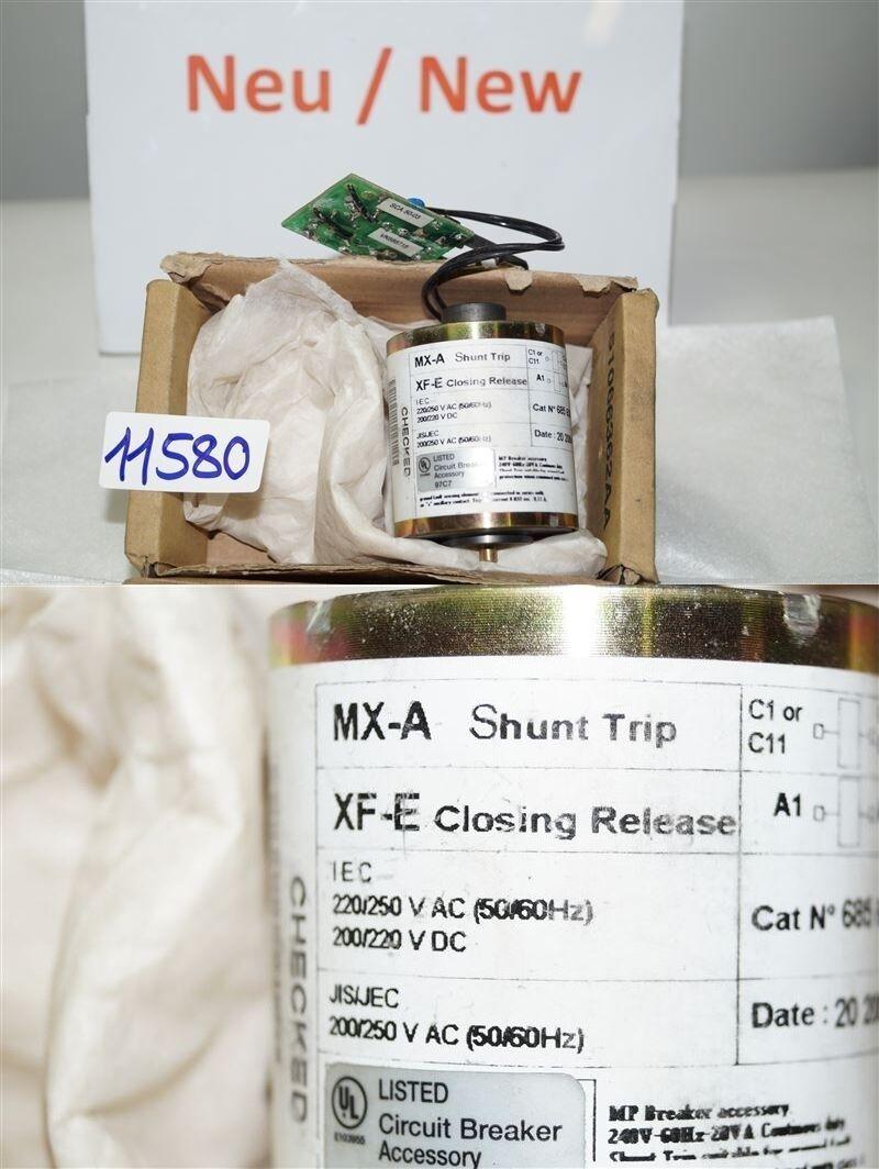 Merlin Gerin Mx-A Shunt Trip Xf-E Closing Release 685658