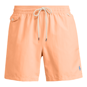 20d186634a6d2 POLO RALPH LAUREN 5½-Inch Traveler Swim Shorts Trunks Fair Orange ...