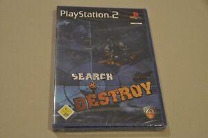 Playstation-2-Spiel-Search-amp-Destroy-komplett-Deutsch-PS2-Neu-OVP