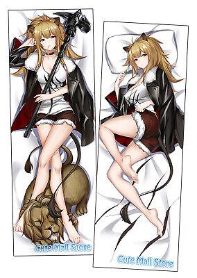 CuteMall Anime Dakimakura Siege Arknights Hugging Body Pillow Cover H3983A