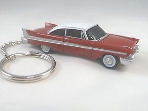 1958 Plymouth Fury KeyChain CHRISTINE Red '58 Fury Key Chain Keychain