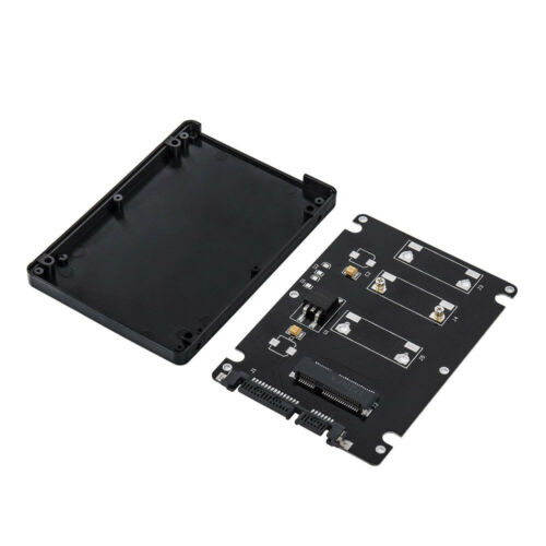 External Adapter 2.5 Inch SATA to mSATA SSD Enclosure Converter Internal