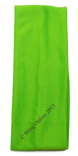 7 cm large tissu extensible tête cheveux Bande Serre-Tête Football Yoga Tennis School