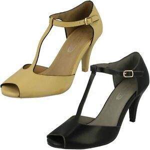 Femmes Spot On À Talon Bout Ouvert-Chaussures-afficher le titre d`origine CUi9VRIs-07155212-802450055