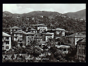 VARAZZE-SAVONA-CARTOLINA-HOTEL-ASTORIA-FG-VG-1963-EDIZ-DELFINO-EMANUELE