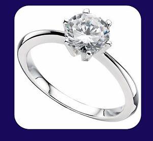 1-Carat-solitario-anillo-de-compromiso-plata-esterlina-925-Sello