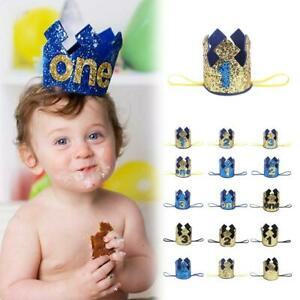 Image Is Loading Prince Baby Boy First 1st Birthday Party Hat