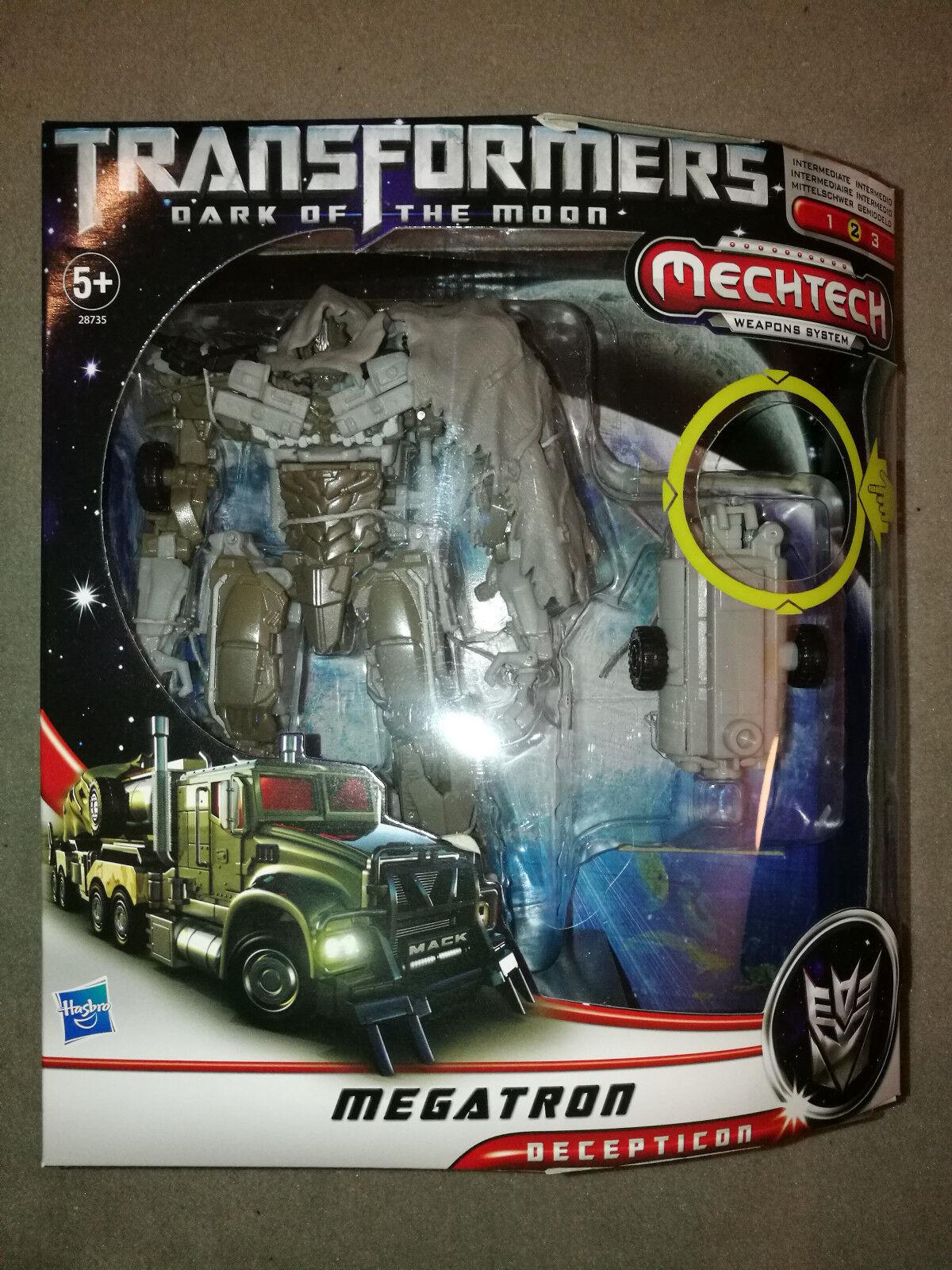 Transformers Movie Dark of the Moon dotm Voyager class Megatron Hasbro