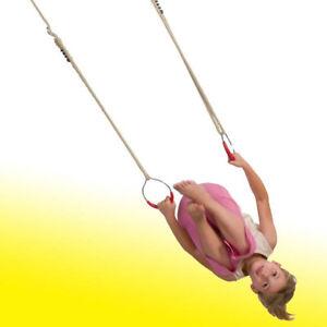 Turnringe-Schaukelringe-aus-Metall-Paar-mit-verstellbaren-Seilen