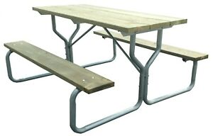 picnic table frame frame only rosendale picnic tables 711583642890 rh ebay com picnic table frame kit menards picnic table free 3d model