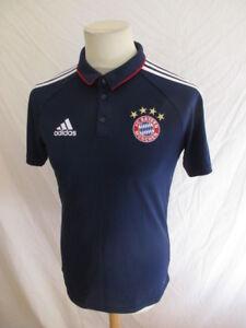 Polo Taille Adidas Du De Football Munich À54 Bayern S Bleu PkZOXTui