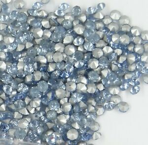 fond conique 2,9mm bleu-vert clair 219 29 *** 50 strass anciens années 60